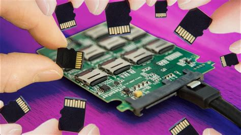 DIY SSD made of SD Cards! - YouTube