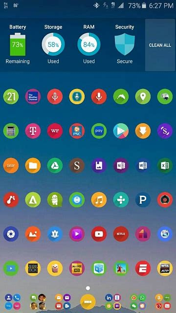 Note 5: Post Pictures Of Your Home Screen(s) - Android