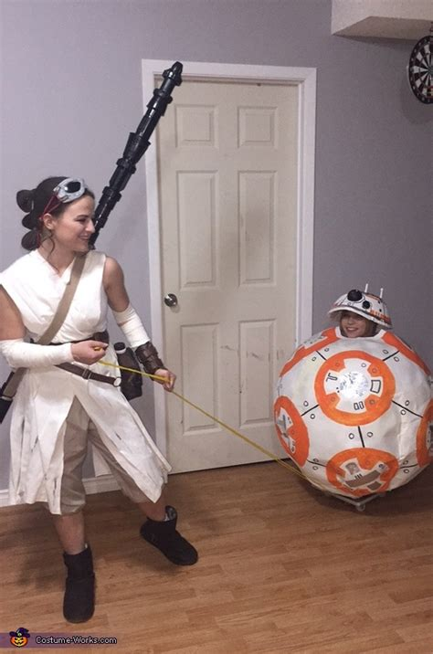 Star Wars BB-8 and Rey Costume   How-To Instructions