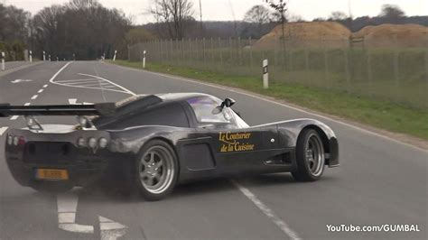 Ultima GTR - Start Up, Spin Out and Accelerating Sounds