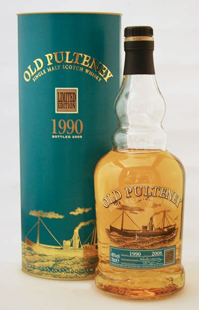 Old Pulteney Limited Edition 1990 – Angels Share