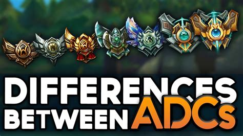 Actual Differences of an ADC at each elo   How to escape