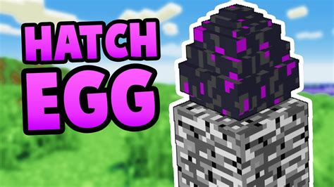 How To Hatch the Ender Dragon Egg in Minecraft Pocket E