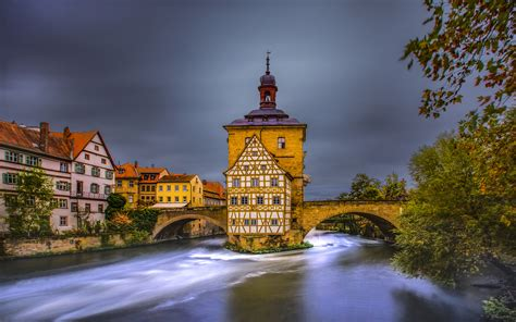Bamberg Is A City In Northern Bavaria Germany Landscape