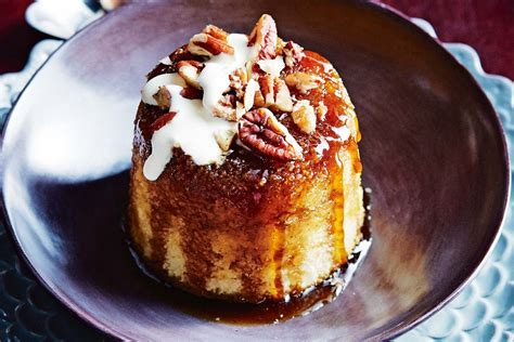 Pouding chomeur (maple and pecan pudding) - Recipes