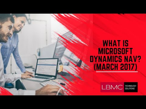 What Is New In Microsoft Dynamics NAV 2018