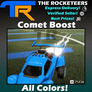 [PS4/PSN] Rocket League Every Painted COMET Import Boost