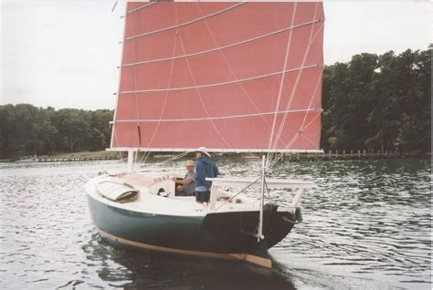 1974 Custom Atkins with Junk Rig Sail Boat For Sale - www