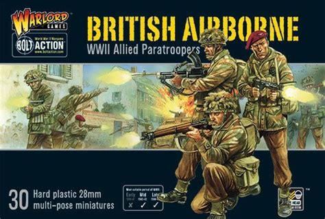 British Airborne WWII Allied Paratroopers - Warlord Games US