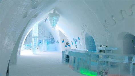 Chilling out at the ice hotel: Inside Quebec's Hotel de