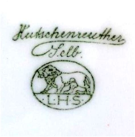 Rosenthal Hutschenreuther China Date Marks | Collect Rosenthal