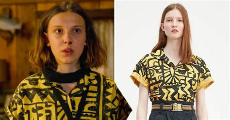 Want Eleven's Yellow Shirt From Stranger Things 3? | 107