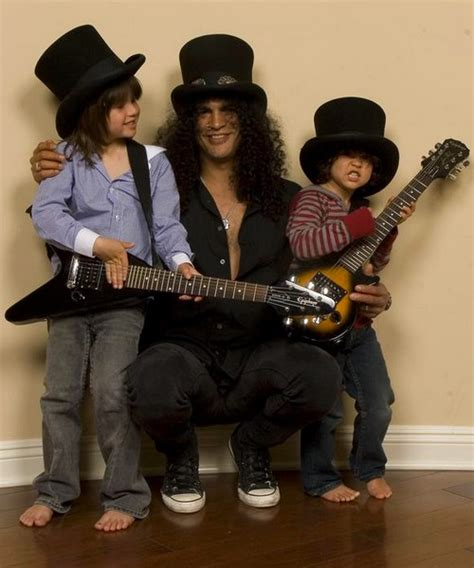 Slash With Family Photos   Picture and image gallery