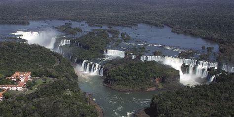 The Iguazú National Park, the world's most beautiful