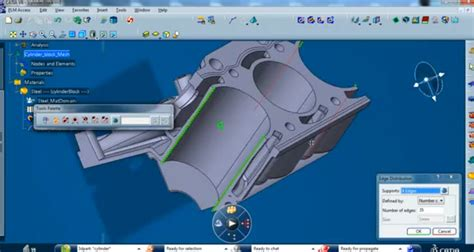 Advanced Surface Meshing in the CATIA V6