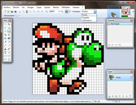 How to draw Pixel Art