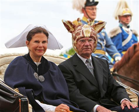 Liam Thinks!: The King of Sweden Likes To Wear Silly Hats