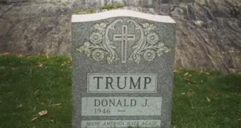 Trump tombstone removed from Central Park - POLITICO