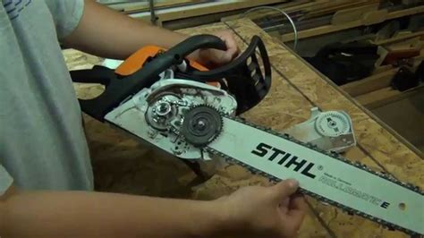 STIHL MS 211C Chainsaw Brief Overview and Start Up - YouTube