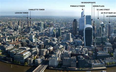London 2030: 14 new buildings due to change the London