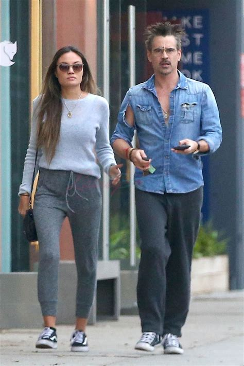 Colin Farrell gets a parking ticket with girlfriend in LA