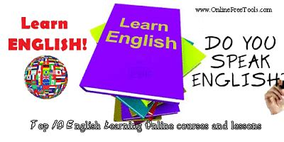 Top 10 Online English Learning Courses and Lessons