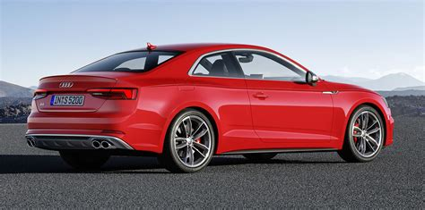 2017 Audi A5 Coupe, S5 Coupe revealed: Australian launch