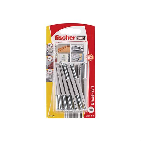 SPIKPLUGG N ZK 5X50 20ST   Beijer Byggmaterial