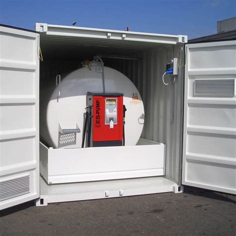 Fuel station containerized, Refuelling Tanks