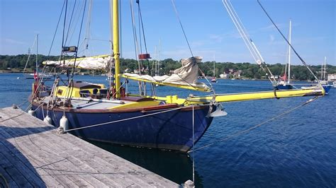 1968 William Atkins Thistle Sail Boat For Sale - www