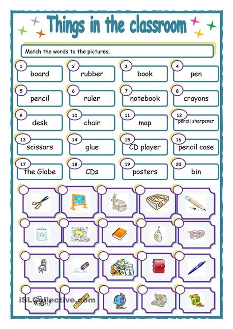 THINGS IN THE CLASSROOM | Learn french, French lessons