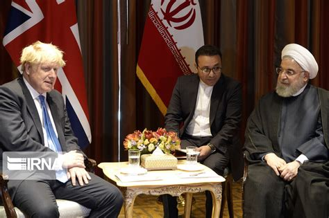Photos: Rouhani's meetings on the sidelines of UNGA