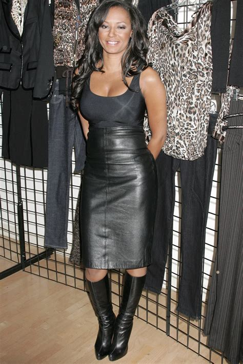 Melanie Brown at Bongo Collection Opening Event - Leather