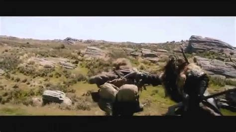 The Hobbit - Wargs attack - YouTube