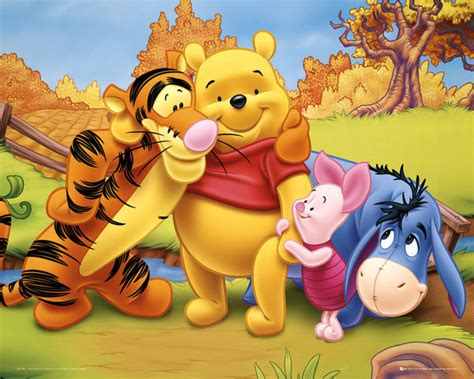 Poster & Affisch WINNIE THE POOH - friends på EuroPosters