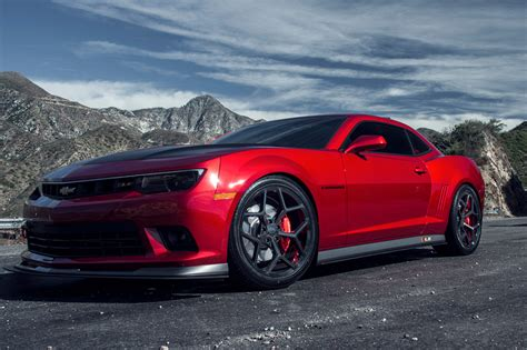 20 inch Staggered MRR 228 Z28 Replica on Chevy Camaro SS w