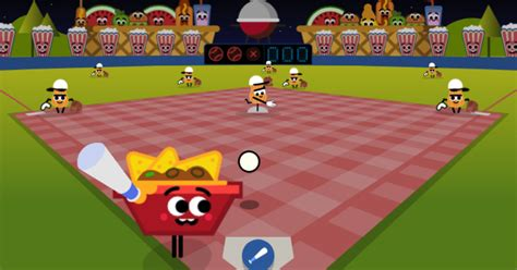 Play baseball with your food in a new July Fourth Google