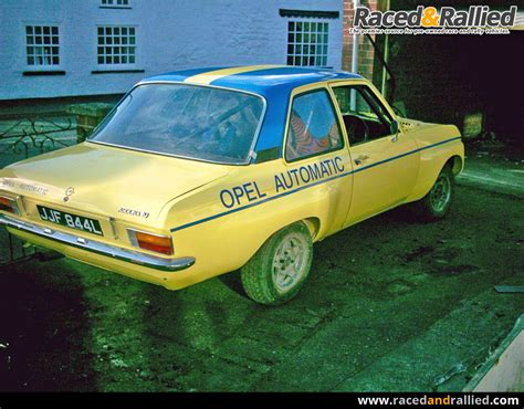 OPEL ASCONA A HISTORIC RALLY CAR | Rally Cars for sale at
