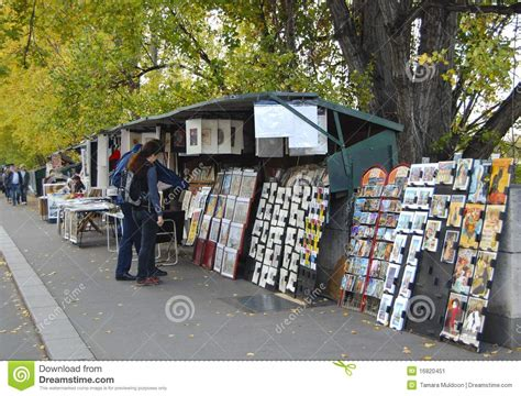 Booksellers On The Seine In Paris Editorial Photo - Image
