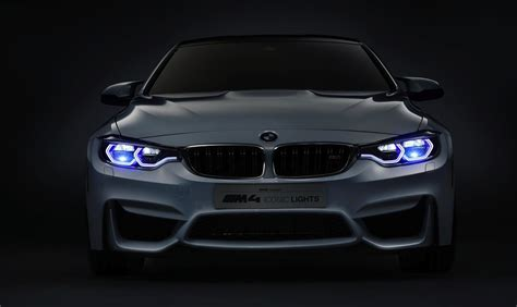 BMW M4 Concept Iconic Lights debuts with laser lights at