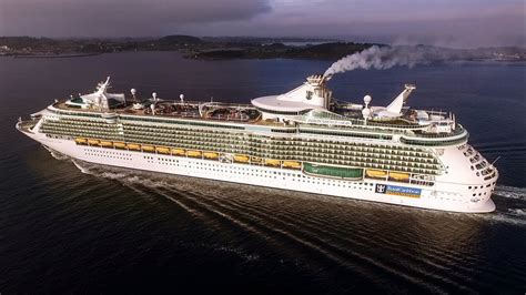 MS Independence of the Seas cruise DRONE chase / Norway 1