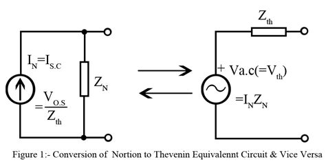 Thevenin's and Norton's Theorem for AC - Electronics Tutorials