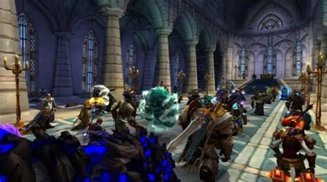 Thousands of WoW players gather in-game to mourn Byron