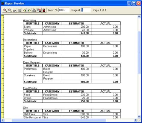 Budget Organizer Deluxe: simple budget manager, database
