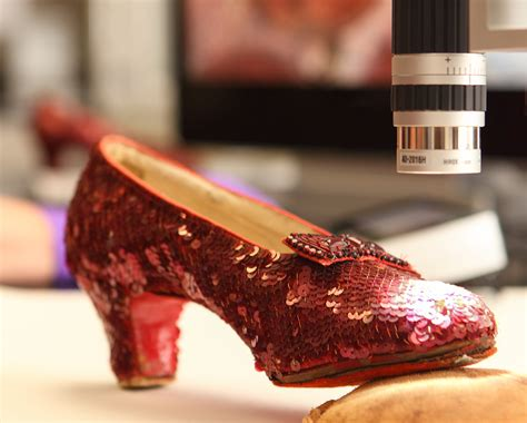 You can help conserve Dorothy's Ruby Slippers   National