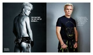 Billy Idol - You can take the boy out of Bromley by