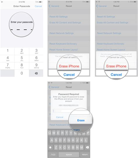 How to wipe all personal data and erase your iPhone and