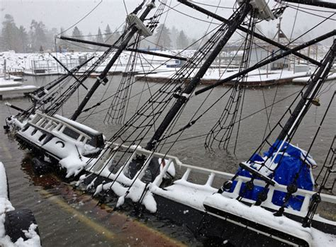"""Bottom time for Pirate Ship """"Time Bandit"""""""