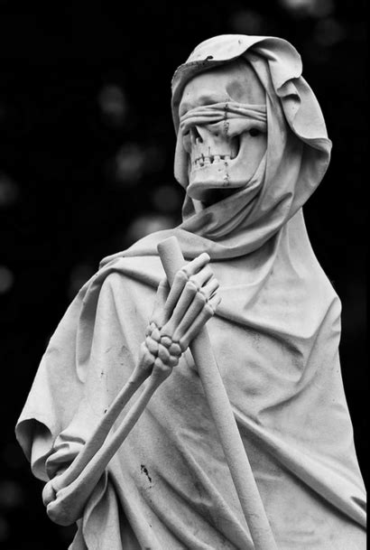 sixpenceee: The grim reaper statue located at the English