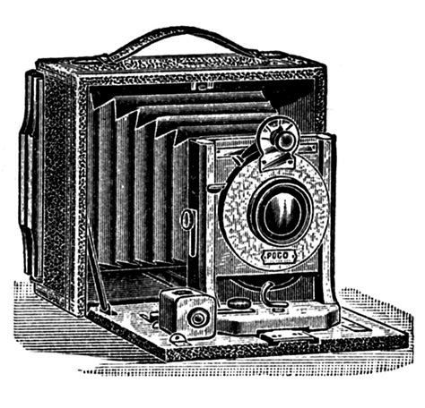 Antique Pictures - Camera, Stereoscope, Ear Trumpet - The